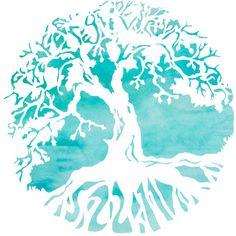 Summer Tree Mandala Art Print ($24) ❤ liked on Polyvore featuring home, home decor, wall art, mandala wall art, tree wall art and tree home decor