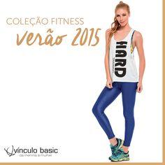 As temperaturas estão aumentando e a disposição para se exercitar também! Use a linha Fitness da Vínculo Basic para praticar atividades físicas com mais saúde e conforto.  http://www.vinculobasic.com.br/colecoes/fitness/36/