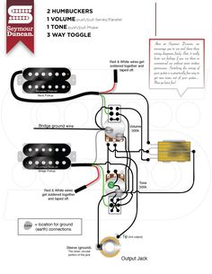 Wiring Diagrams  Seymour Duncan | Seymour Duncan | Wiring in 2019 | Guitar building, Wire, Mandolin