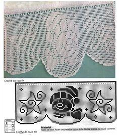 Häkelvorhänge Plus Size plus size capris Crochet Snowflake Pattern, Crochet Borders, Crochet Doilies, Crochet Snowman, Crochet Amigurumi, Crochet Decoration, Crochet Home Decor, Xmas Cross Stitch, Crochet Motif