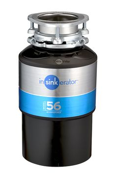 Dispose of your unwanted food with this InSinkErator chrome effect, food waste disposer from the model 56 range. Duravit, Waste Solutions, Waste Disposal, Sink Taps, Leroy Merlin, Food Waste, A Food, Garbage Disposals, Chicken Bones