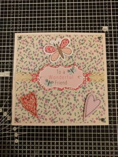 Craftwork Cards wonderful friend