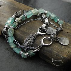 Two Bracelets  set 20% off  sterling silver and by studioformood
