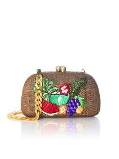 SERPUI / MINAUDIERE MIA FRUITS EN PAILLE #serpui #minaudiere #sac #bag #bymarie #bymariestore #vacation #pieces #holidays #bohemian #boheme #boho #gypset #summer #paris