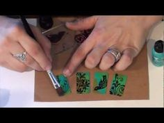 Vintaj Patina Stamping & Sealing: Quick Tip! - YouTube Use Archival ink on top of vintaj patina.  You need to seal the ink and can do that with vintaj glaze.  You don't however need to seal the vintaj patina which is made to adhere to metals.