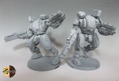ZandrisIV Miniatures does a few nice, good-value mechs that would make terrific Defence Mechs. More often that not, you'll only need one for most games. But when you get two, you *know* you're in for fun times! Use the miniatures you love. Pvp, Mini Me, Cyberpunk, Board Games, Sci Fi, Miniatures, Sculpture, Awesome, Geek Gear