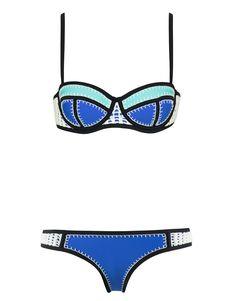 65974a9473 BRIGITTE - BLUE SKY Swimming Outfit
