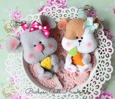 Barbara Handmade...: Myszki i chomiki / Mice and hamsters