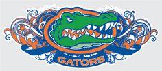Florida Gators Tribal 1 Vinyl Decal Car Truck Sticker iPhone Uf | eBay