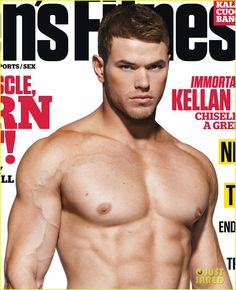 Kellan Lutz fits the build for muscular Vampire Emmet Cullen in the Twilight Movie Saga.