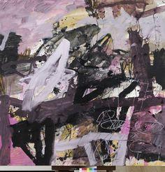Thibaut de Reimpré, Sans titre, technique mixte sur papier marouflé sur toile
