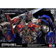 Dreamworks Optimus Prime Statue