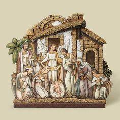 Nativity Scene Figurine, The Printery House