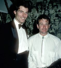 Robin Williams and the late Christopher Reeve lived together while studying at Julliard in the early 1970s