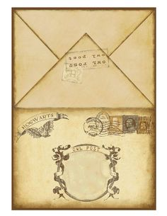 Harry Potter Printable Invitation 2