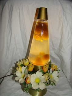 Vintage Enchantress Planter Lava Lamp