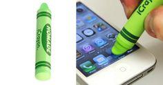 [TOPITRUC] Un crayon de couleur pour téléphone et tablette