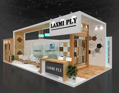 Laxmi Ply on Behance Exhibition Stall, Exhibition Booth Design, Exhibition Display, Exhibit Design, Kiosk Design, Display Design, Backdrop Design, Banner Design, Home Technology