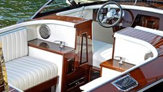 Tommy Bahama Edition Hacker-Craft | Hacker-Craft and Tommy Bahama Debut a Relaxing Runabout | Robb Report