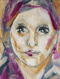 woman Art Print by Christine Lamade
