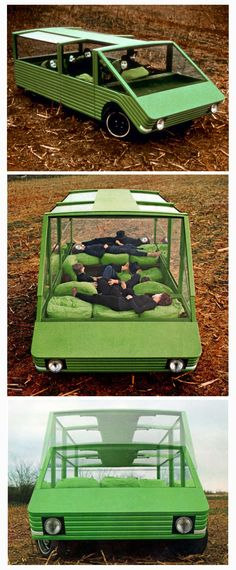 Mario Bellini: Kar-a-Sutra prototype car, 1972