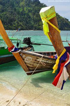 boats of thailand. krabi