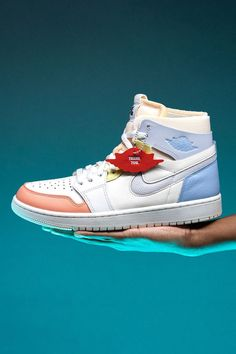 """An athlete's first coach plays a vital role in the success and enjoyment of a sport. On the Air Jordan 1 High Zoom Comfort """"To My First Coach,"""" Jordan Brand shows appreciation to all the mentors who teach the fundamentals of sports. Jordan 3, Air Jordans, Air Jordan"""