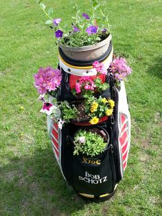 Recycled golf bag