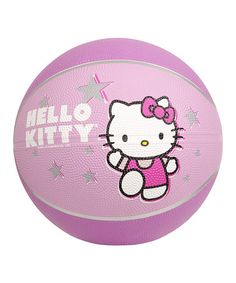 Look what I found on #zulily! Hello Kitty Basketball by Hello Kitty #zulilyfinds