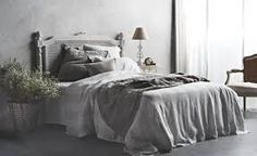 gray and white bedroom linen - Google Search