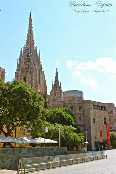 Barcelona - España. Cong Nguyen photography August 2013.
