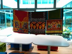 hand painted saris