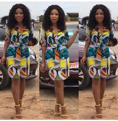 The complete collection of Exotic Ankara Gown Styles for beautiful ladies in Nigeria. These are the ideal ankara gowns African Fashion Designers, African Fashion Ankara, African Inspired Fashion, Latest African Fashion Dresses, African Print Fashion, Africa Fashion, African Style, Short African Dresses, Ankara Short Gown Styles