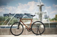 influenced by shipbuilding and aircraft design, serbian designer žarko bubalo has made two models of wooden bicycles 'perfect day' and 'imagine'. the combination of the natural wood with reinforced glass fiber and epoxy produces a smooth riding experience with a high-level of vibration absorption.