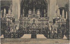 Kathedrale Innensicht Kriegshafen Libau 1915.