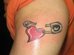 What does safety pin tattoo mean? We have safety pin tattoo ideas, designs, symbolism and we explain the meaning behind the tattoo. Tatto Design, Heart Tattoo Designs, Tattoo Designs For Women, Great Tattoos, Unique Tattoos, Safety Pin Tattoo, Worlds Best Tattoos, Mens Shoulder Tattoo, Schulter Tattoo