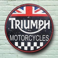 Triumph Motorcycles sign