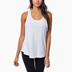 Marianna Tank - The 'Marianna Tank' is a custom cut tank from 100% cotton sourced in the United States. The classic staple tank top to add to your warm weather wardrobe.