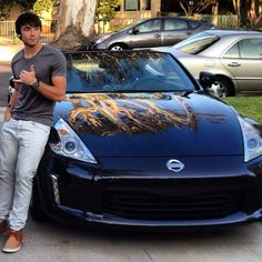 I can't decide whats hotter, that car or Wesley??!!!! WESLEYYY