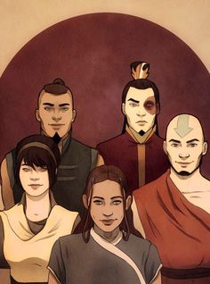 Older versions of the teenage Team Avatar we fell in love with.