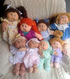 Huge Vintage Cabbage Patch Doll and Clothing Lot | eBay