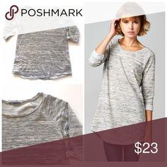 "Cherish marled hi low tunic Sz L Item: Cherish Marled tunic slight hi low detail. Amazing 😱😱 EUC 🔸 Size: L 🔸 Measurements: bust 21""across length 28"" front 30"" back cherish Sweaters"