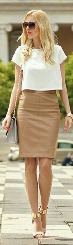 Mohito Leather Skirt / Meri Wild