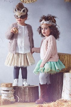 SO cute. Tutus and masks #anthroregistry
