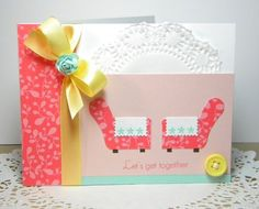 A Papertrey Ink Polka-dot Parade #3 card by Melissa Bickford.
