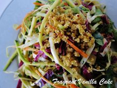 Raw Pad Thai is an awesomely uncooked way to enjoy your takeout favorite.