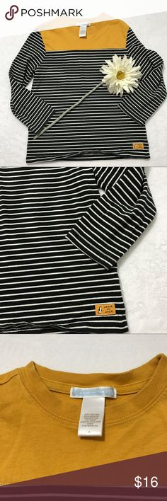 {Janie & Jack} Striped Long Sleeve Shirt Great used condition. Perfect for back to school! Janie and Jack Shirts & Tops Tees - Long Sleeve