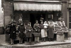 Commerce Epicerie Alimentation Primeur Toulouse Photo Ancienne 1920