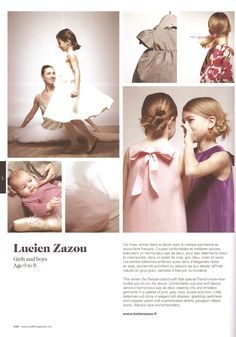 8e59d9f1142 MILK KID S COLLECTION AW12. Caroline Febres · LUCIEN ZAZOU