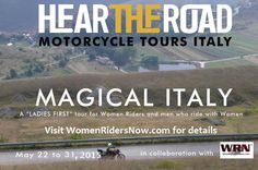 Tour with WRN Editor Genevieve to Italy in May 2015!